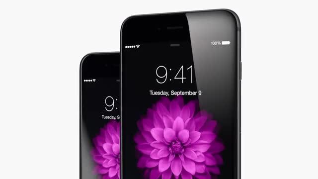 تبلیغات شرکت اپل آیفون ۶ و ۶ پلاس شماره ۱